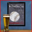 Traditional Sports Tavern Sign Baseball