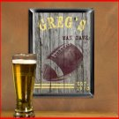 Traditional Sports Man Cave Pub Sign Football