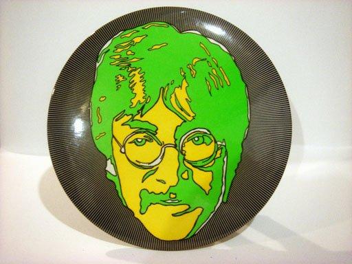 "Beatles 1 1/4"" Button Pin Psychedelic John Lennon"