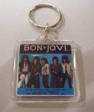 Bon Jovi Band Keychain