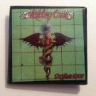 "Motley Crue Collectible ""Dr. Feelgood"" 1 1/2"" Square Button 1991 Original"