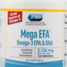 Vitacost Mega EFA Omega-3 EPA & DHA -- 2126 mg - 240 Softgels