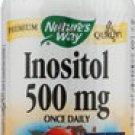 Nature's Way Inositol -- 500 mg - 100 Capsules privent hair loss