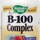 Nature's Way Vitamin B-100 Complex -- 100 Capsules