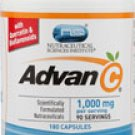 Vitacost Advan-C® with Quercetin & Citrus Bio flavonoids -- 1000 mg per serving - 180 Capsules