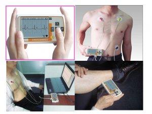 Portable Handheld ECG EKG Heart Monitor
