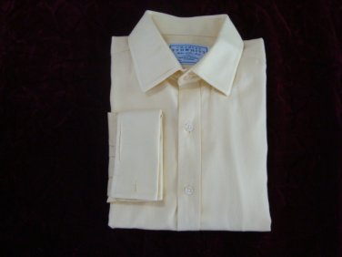 Charles Tyrwhitt Classic Fit Men's French Cuffs Shirt - sz. 16 1/2 - 34