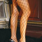 Big diamond net thigh hi.