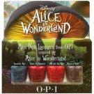 OPI Alice In Wonderland - mini collection pk of 4