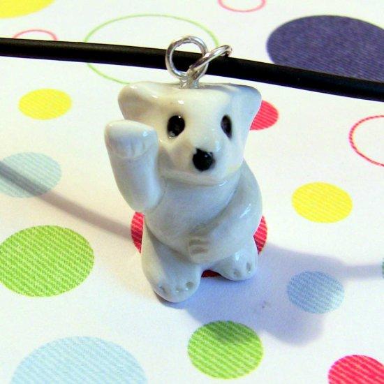 Polar Bear Endangered Charity Animini Necklace