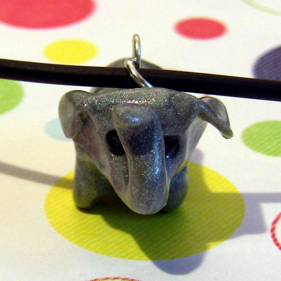Pygmy Elephant Endangered Charity Animini Necklace