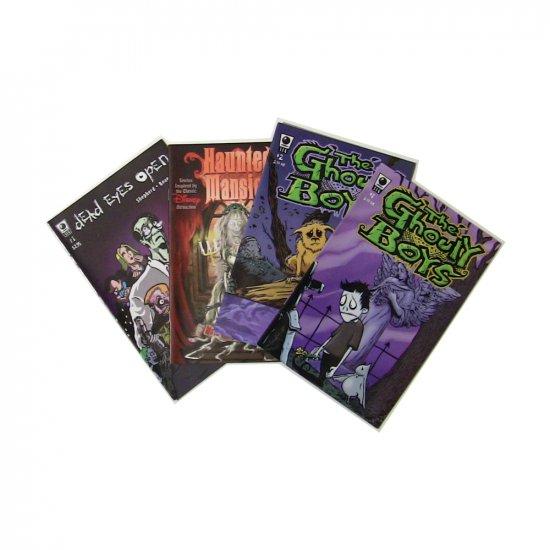 Zombie Comic Set for Halloween
