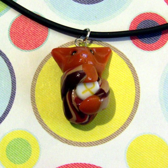Desert Camo Kitty Charity Necklace