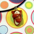 Cheezburger Kitty Ginger Orange Tuxedo Animini Necklace