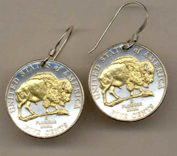 New Jefferson nickel Bison (2005)