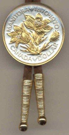 Canadian dollar Pasque Flowers (A little smaller than U.S. dollar coin)