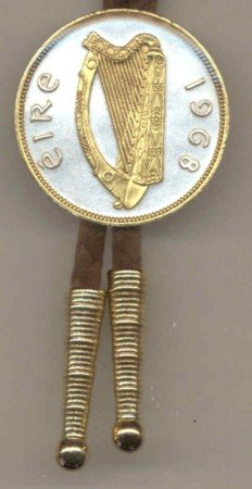 Irish Penny Harp (Half dollar size)