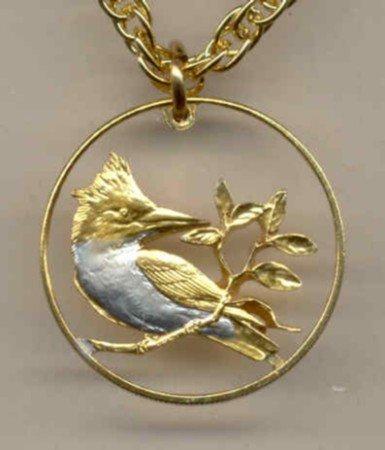 British Virgin Is. 10 cent (Kingfisher) copper - nickel (little bigger than a nickel) 1973-1984