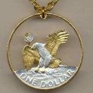 Eisenhower dollar (reverse eagle) copper - nickel 1971 - 1978