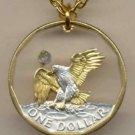 S.B. Anthony dollar (reverse eagle) copper - nickel 1979 - 1981 & 1999
