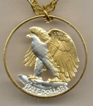 U.S. Walking Liberty half dollar 90% silver 1916 - 1947