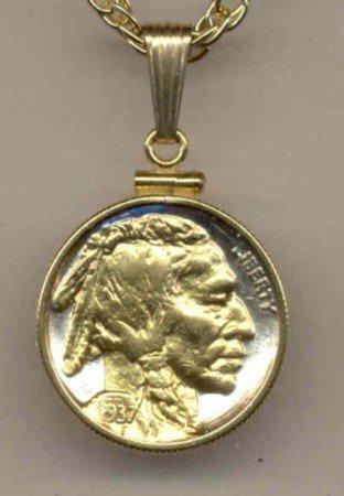 Indian head nickel (minted 1913 - 1938)