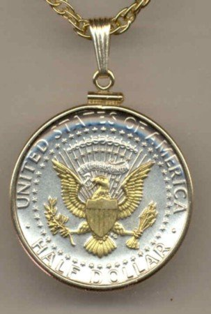 Kennedy half dollar (reverse) (1970 - date)