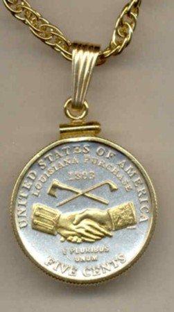 New Jefferson nickel Peace Medal (2004)