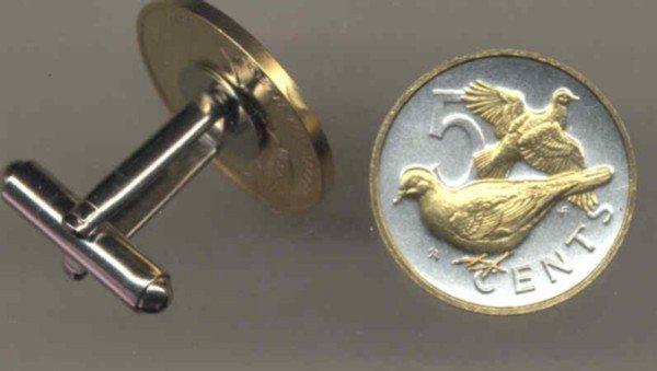 British Virgin Islands 5 cent Doves