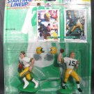BRETT FAVRE/BART STARR 1997 Starting Lineup Classic Doubles - Packers & Vikings