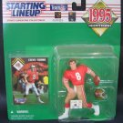 STEVE YOUNG 1995 Starting Lineup - San Francisco 49ers & BYU Cougars