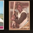 ROBERTO CLEMENTE - 1962 Topps #10 - Pittsburgh Pirates