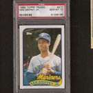 KEN GRIFFEY, JR. - 1989 Topps Traded PSA 10 Gem Mint RC - Seattle Mariners