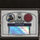 PRINCE FIELDER - 2006 Bowman Sterling AUTOGRAPHED Jersey RC - Milwaukee Brewers
