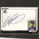 BRAD PENNY - 1998 SP Top Prospects Chirography AUTOGRAPH - San Francisco Giants