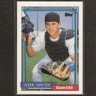 JASON VARITEK - 1992 Topps Traded ROOKIE - Team USA & Red Sox