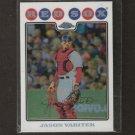 JASON VARITEK - 2008 Topps Chrome REFRACTOR - Boston Red Sox