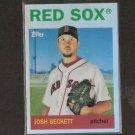 JOSH BECKETT - 2008 Topps Heritage CHROME REFRACTOR - Red Sox