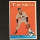 TONY KUBEK - 1958 Topps SECOND YEAR - New York Yankees
