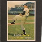 RALPH TERRY - 1957 Topps ROOKIE - New York Yankees