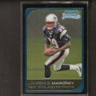 LAURENCE MARONEY - 2006 Bowman Chrome ROOKIE CARD - Patriots, Broncos & Minnesota Golden Gophers