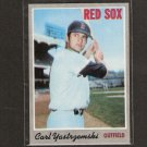 CARL YASTRZEMSKI - 1970 Topps Card #10 - Boston Red Sox