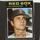 CARL YASTRZEMSKI - 1971 Topps Card #530 - Boston Red Sox