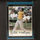 VICTOR MARTINEZ - Bowman Draft ROOKIE CARD - Red Sox, Indians & Detroit Tigers