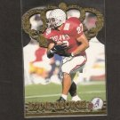 EDDIE GEORGE - 1996 Pacific Crown Royal GOLD CROWN RC - Titans, Oilers & Ohio State Buckeyes