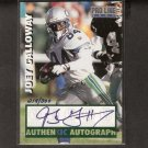 JOEY GALLOWAY - 1997 Proline CERTIFIED AUTOGRAPH - Seahawks & Ohio State Buckeyes