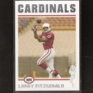 LARRY FITZGERALD - 2004 Topps Rookie - Arizona Cardinals & Pittsburgh Panthers
