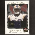 MARSHALL FAULK - 2003 Fleer Ultra Game-Used JERSEY - St. Louis Rams & Aztecs