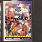 WESLEY CARROLL - Saints & Miami Hurricanes