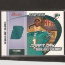 RONNIE BROWN - 2005 Bowman DRAFT JERSEY RELIC - Miami Dolphins